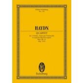 HAYDN J. STREICH-QUARTETT G DUR OP 33/5 CONDUCTEUR