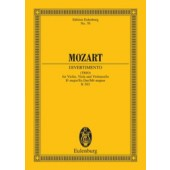 MOZART W.A. DIVERTIMENTO K 563 CORDES PARTITION DE POCHE