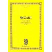 MOZART W.A. CONCERTO K 491 PIANO ET ORCHESTRE PARTITION DE POCHE