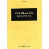 STRAVINSKY I. CONCERTO EN RE CORDES CONDUCTEUR