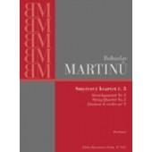 MARTINU B. QUATUOR A CORDES N°5 CONDUCTEUR