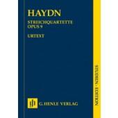 HAYDN J. STREICH-QUARTETT OP 9 CONDUCTEUR
