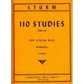 STURM W. 110 STUDIES OP 20 VOL 2 CONTREBASSE