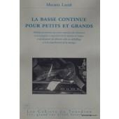LAIZE  M. LA BASSE CONTINUE POUR PETITS GRANDS
