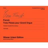 FRANCK C. 3 PIECES ORGUE