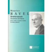 RAVEL M. SHEHERAZADE 2 PIANOS