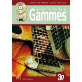 DESGRANGES B. GAMMES EN 3D GUITARE AVEC CD DVD