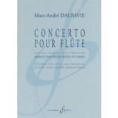 DALBAVIE M.A. CONCERTO FLUTE