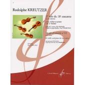 KREUTZER R. 1RE SOLO DU 18ME CONCERTO VIOLON