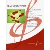 VIEUXTEMPS H. 3ME CONCERTO 1ER SOLO VIOLON