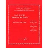 BEAUFORT C. MENUET ANTIQUE TROMPETTE