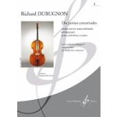 DUBUGNON R. DIX PETITES CONCERTUDES 2 CONTREBASSE