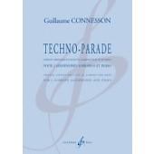 CONNESSON G. TECHNO-PARADE 2 SAXOPHONES SOPRANOS