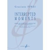 FINZI G. INTERRUPTED MOMENTS CLARINETTES