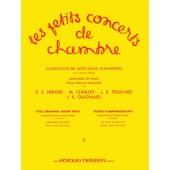 FEUILLARD L.R. LES PETITS CONCERTS DE CHAMBRE VOL 5