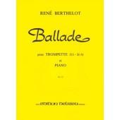 BERTHELOT R. BALLADE TROMPETTE