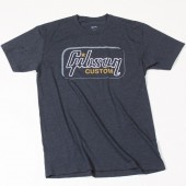 T-SHIRT GIBSON CUSTOM T (HEATHERED GRAY) SMALL
