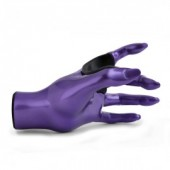 SUPPORT MURAL GUITARE GRIP FEMALE PURPLE LEFT GG015
