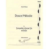 TELMAN A. DOUCE MELODIE TROMPETTE OU CORNET