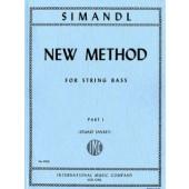 SIMANTDL F. NEW METHOD FOR STRING BASS VOL 1 CONTREBASSE