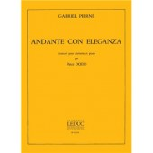 PIERNE G. ANDANTE CON ELEGANZA CLARINETTE