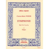 WIDOR C.M. 5ME SYMPHONIE ORGUE