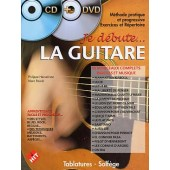HEUVELINNE P./ROUVE M. JE DEBUTE LA GUITARE 1 AVEC CD + DVD