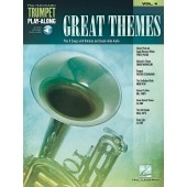 GREAT THEMES PLAY-ALONG VOL 4 TROMPETTE