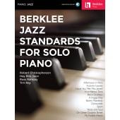 BERKLEE JAZZ STANDARDS PIANO SOLO