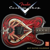 FENDER CUSTOM SHOP 2017 CALENDRIER