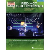 RED HOT CHILI PEPPERS DELUXE GUITAR PLAY-ALONG VOL 6