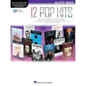 12 POP HITS SAXO ALTO
