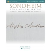 SONDHEIM FOR CLASSICAL PLAYERS TROMPETTE