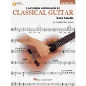 DUNCAN C. A MODERN APPROACH TO CLASSICAL GUITAR BOOK 1