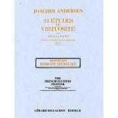 ANDERSEN J. 24 ETUDES DE VIRTUOSITE OP 60 VOL 1 FLUTE