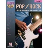 BASS PLAY-ALONG VOL 03 POP/ROCK BASSE