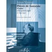 VIERNE L. PIECES DE FANTAISIES OP 55 ORGUE