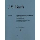 BACH J.S. CONCERTO N°1 BWV 1052 2 PIANOS