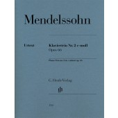 MENDELSSOHN F. TRIO N°2 OP 66 CORDES ET PIANO