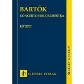 BARTOK B. CONCERTO POUR ORCHESTRE CONDUCTEUR