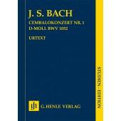 BACH J.S. CONCERTO N°1 BWV 1052 CLAVECIN ET ORCHESTRE