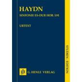 HAYDN J. SYMPHONIE UT MAJEUR HOB. I:91 CONDUCTEUR