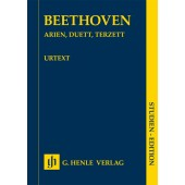 BETHOVEN L.V. ARIAS, DUET, TRIO CONDUCTEUR