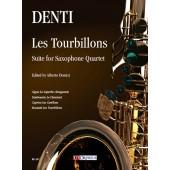 DENTI C. LES TOURBILLONS QUATUOR DE SAXOPHONES