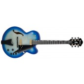 IBANEZ CONTEMPORARY ARCHTOP AFC155-JBB JET BLUE BURST