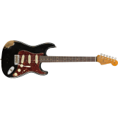 FENDER CUSTOM SHOP '60 ROASTED STRATOCASTER HEAVY RELIC AGED BLACK LIMITED EDITION