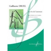DRUEL G. LE REVE DE L'AUTOMATE CLARINETTE