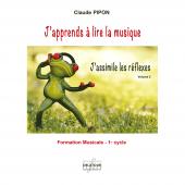 PIPON C. J'APPRENDS A LIRE LA MUSIQUE VOL 2