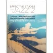 CARUBIA/JARVIS EFFECTIVE ETUDES FOR JAZZ TROMBONE