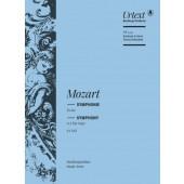 MOZART W.A. SYMPHONY IN E FLAT MAJOR KV 543 CONDUCTEUR